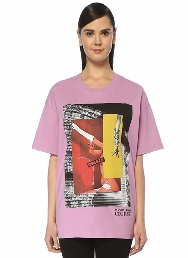 Versace Jeans Tişört Lila